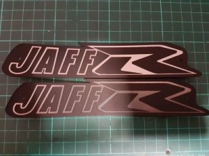 Custom Motorbike Fuel Tank Labels
